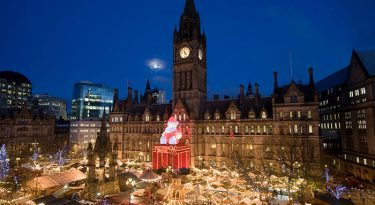 Christmas Albert Square Manchester